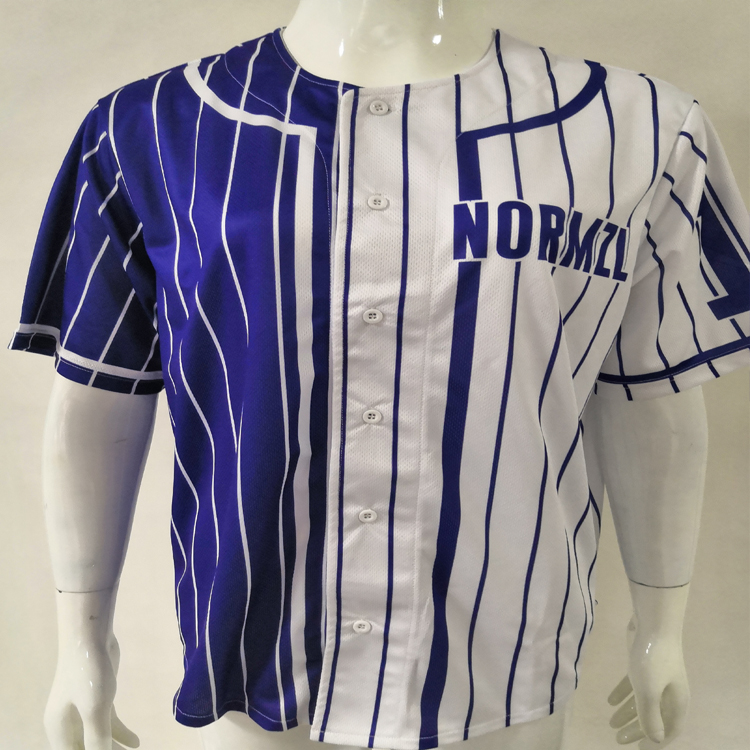 Sport sublimatie mens custom baseball fabrikanten jerseys