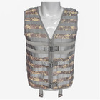 Tactical camo vest for outdoor camping or hiking