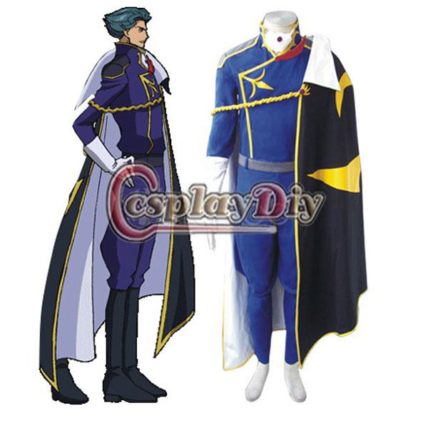 Anime Costumes Costumes & Accessories The Best Anime Code Geass Cosplay Clothing-code Geass Cosplay Schneizel El Britannia Cosplay Costume Mens Party Costume Free Shipping Beautiful In Colour