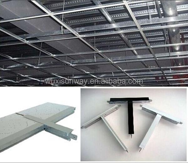 Galvanized Suspended Expose Ceiling Grid False Ceiling T