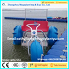 HDPE beautiful durable Anti-corrosion water tricycle for sale price