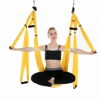 home fitness yoga swing aerial yoga hammock extension straps