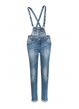 wholesales price jeans ladies apparel women denim skinny suspender dungarees jeans trouser for women