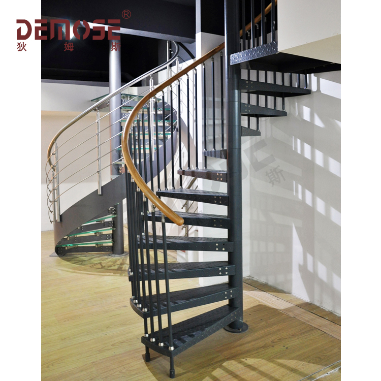 Prefabricated Stairs Steel And Wrought Iron Balusters Wrought Iron Spiral  Staircase   Buy Wrought Iron Spiral Staircase,Prefabricated Stairs ...