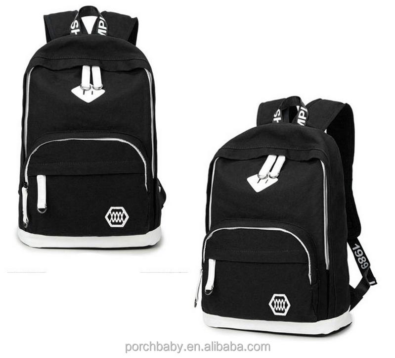 68762fad0164d تصميم جديد ل 2016 حقيبة المدرسة الصينية ، اسم الماركة المراهقة المدرسة  الحديثة
