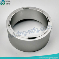 Aluminum housing spare parts for acoustic element