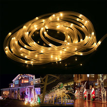 Led Rope Light 10M Weatherproof Battery Operated Rope Lights