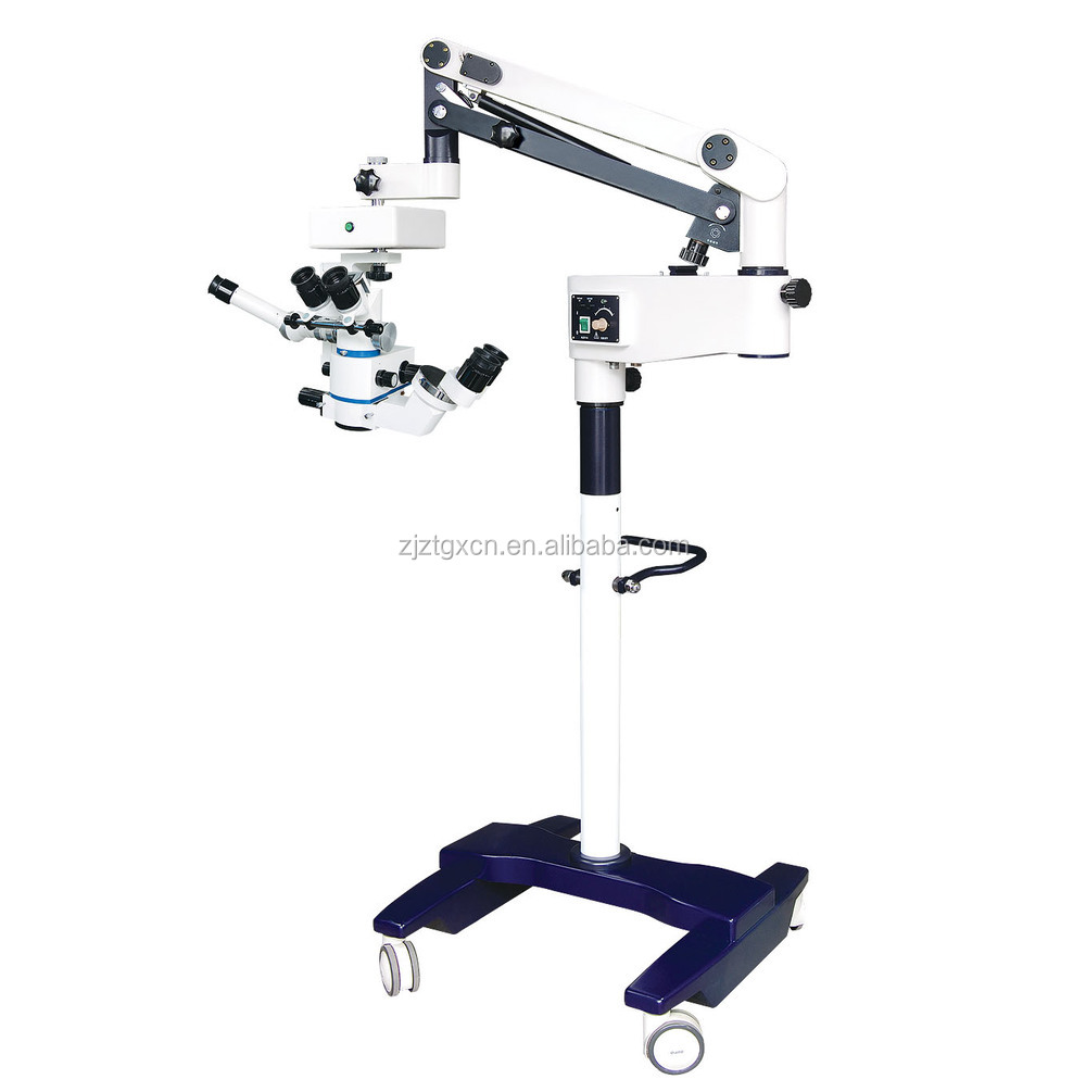 5-step magnification zoom system eyes orthopedic operation microscope LZJ-6D (CE, ISO, Factory)