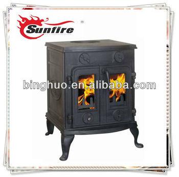 Wood Stove Antique Wood Fireplace Double Doors - Buy Wood Burner ...