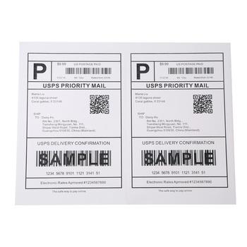 Top Quality Letter Size 8 5 X 11 A4 Address Half Sheet Label