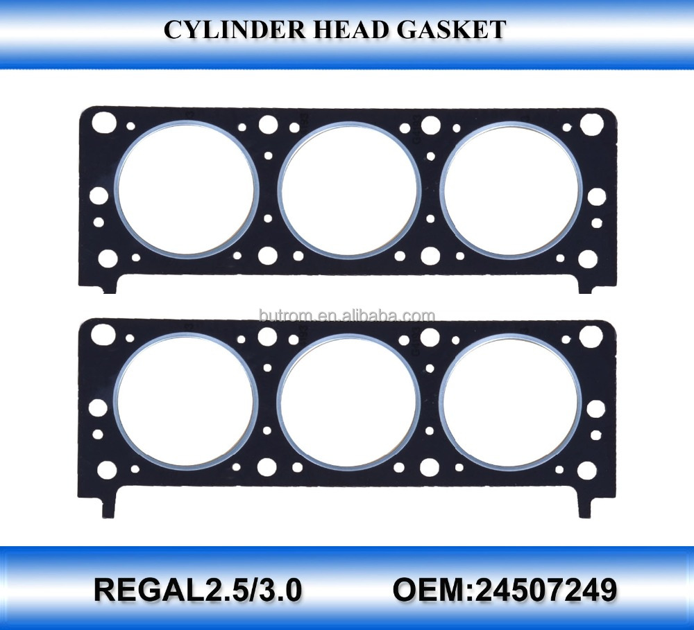 Near OEM quality top gasket set for regal 2.5/3.0 24507249
