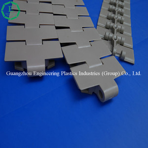 Engineering plastic Delrin slat chain injection molding POM conveyor chain