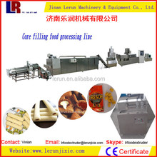 120kg/h Core Filling Food Snack Machine