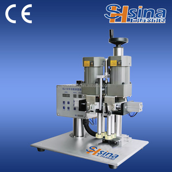 Automatic Screw Capping Machine For Wine Bottle Screw Cap