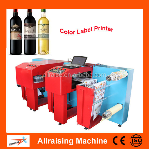 roll to roll color label printer digital barcode label