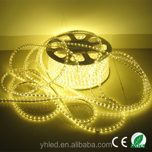 LED light AC110v 220v hot sale 100m/Roll SMD3528 outdoor waterproof flex led strip light bar