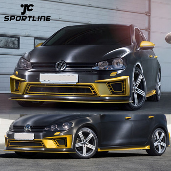 factory pu mk7 r400 body kit for volkswagen vw golf 7 vii. Black Bedroom Furniture Sets. Home Design Ideas