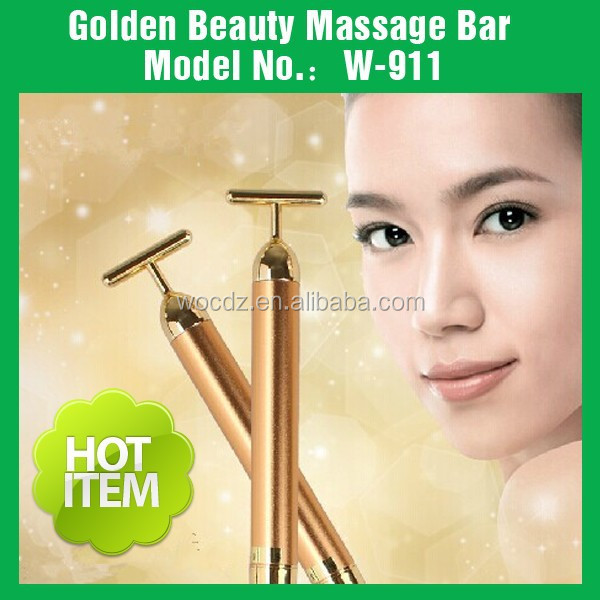Kakusan 24k gold vibration massager beauty bar