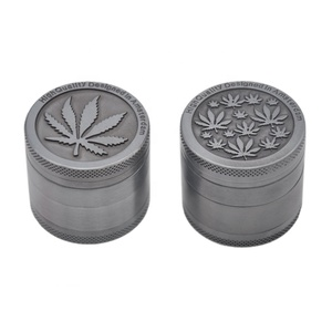 STARBUSS New Zinc 4 Parts Tobacco Crusher Herb/Spice Grinder Customize Aluminum Grinder Stock Customize Aluminum Grinder