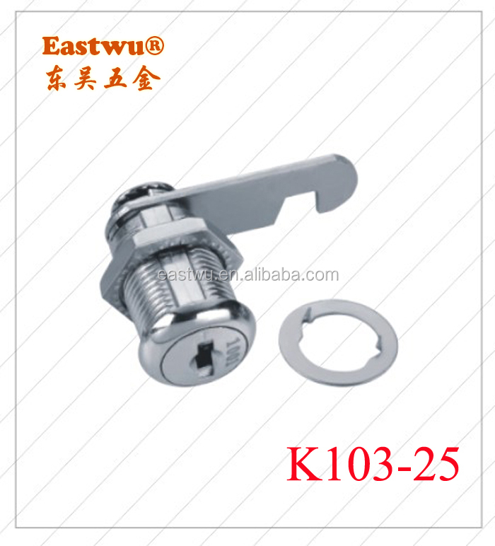 K103-25 High Security Computer Dot Key Cam Lock Master Key for Steel Furniture Mailbox Lock
