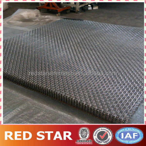 Stainless Steel Crimped Square Wire Netting