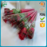flower packaging material bouquet bags plastic sleeves for cut fresh flowers packaging