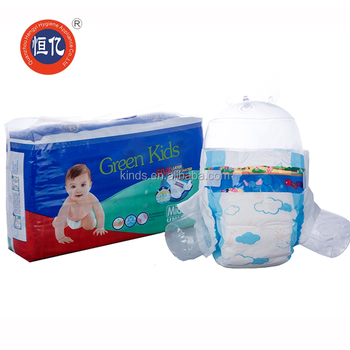 blue core ultra-thin disposable baby diaper in quanzhou fujian