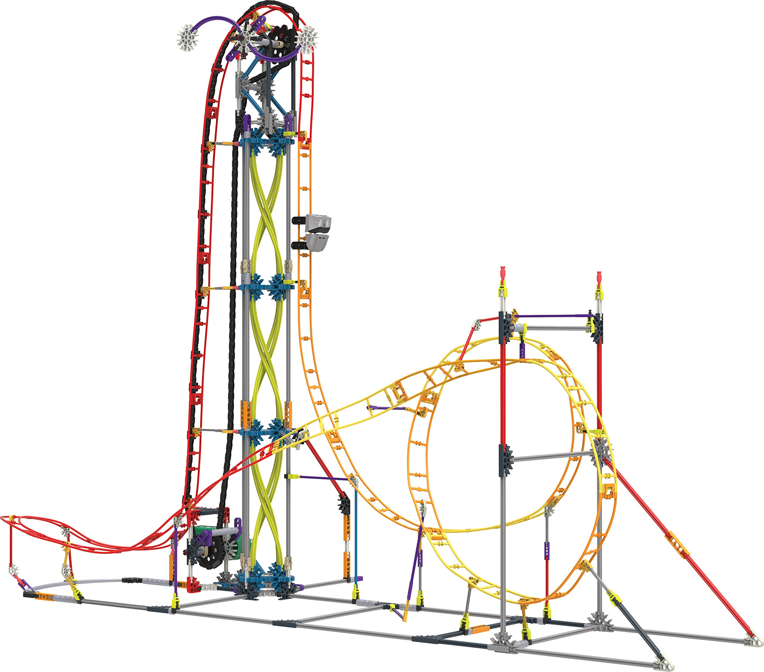Buy Knex Thrill Rides Supernova Blast Roller Coaster Building Set In