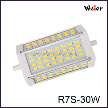 R7s 30w Lumen Product 3000lm Led 118mm On Lamp 30w R7s Lamp High Buy 30w high Lamp 30w DWIEYH29
