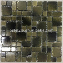 12''X12'' tumbled mix colors fashion mosaic tile(tf2)