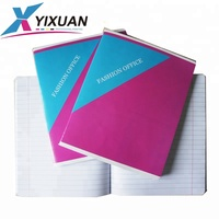 saddle stitched exercise book&notebook for school student