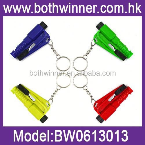 BW268 vehicle rescue hammer key chain