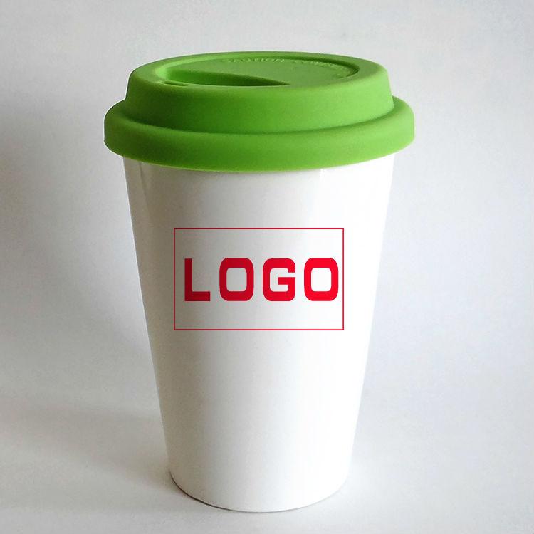 Célèbre Promotionnel logo personnalisé silicone couvercle en céramique  HW97