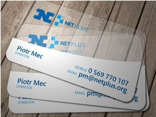Free design!!! Clear pvc business transparent cards