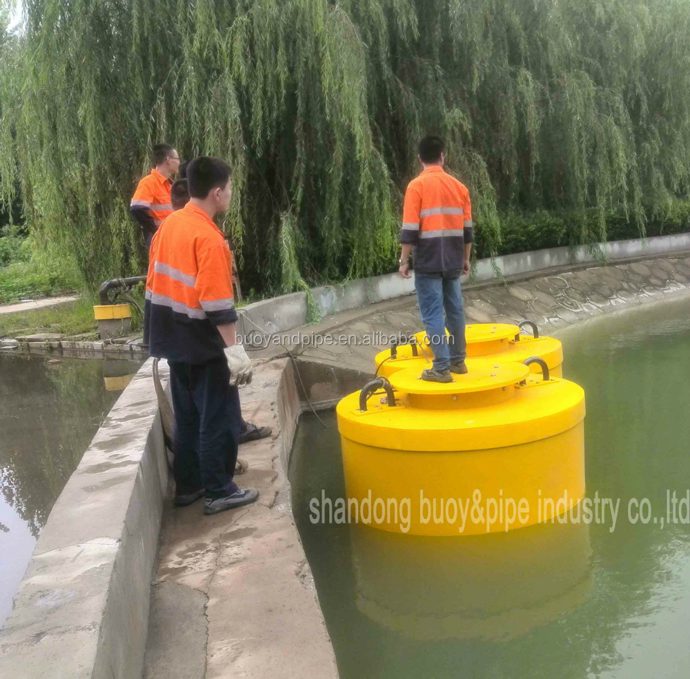 Yellow lateral marker buoy