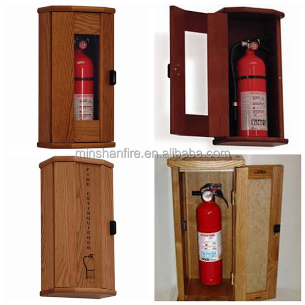 Why is steel used for fire extinguishers?