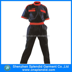 Wholesale clothing summer navy blue women paintball coverall
