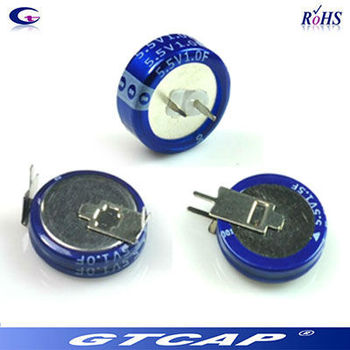 5 5v Gold Coins 4 Farad Ultracapacitor Battery - Buy 5 5v Gold Coins 4f  Capacitor,Button Super Capacitor,Battery Super Capacitor Product on