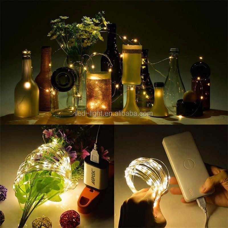 2017 New products 10M 100 LED timed battery operated led string light For decorative
