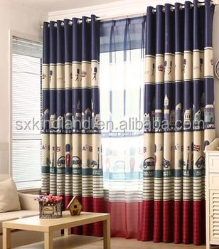 2017 Hot Sale Flame Retardent Luxury Fold Curtain Styles For Dubai