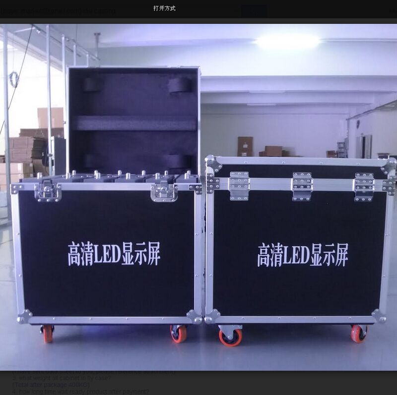 In stock fast shipping RGB P4.81 LED screen full color out door concert stage led video wall p4.81 outdoor led display