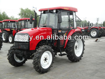 40hp 4-wheeled agricultural tractor