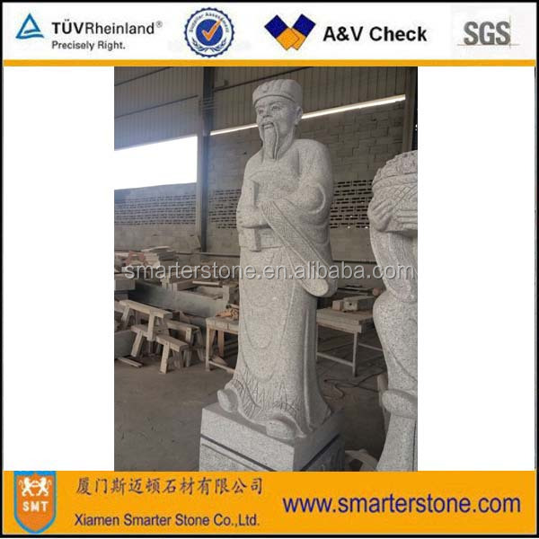 Chinese Story <the Eight Immortals (in the legend)> Granite Statue Sculpture