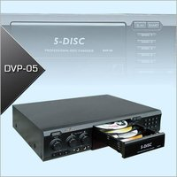 5 Disc DVD Player With Karaoke