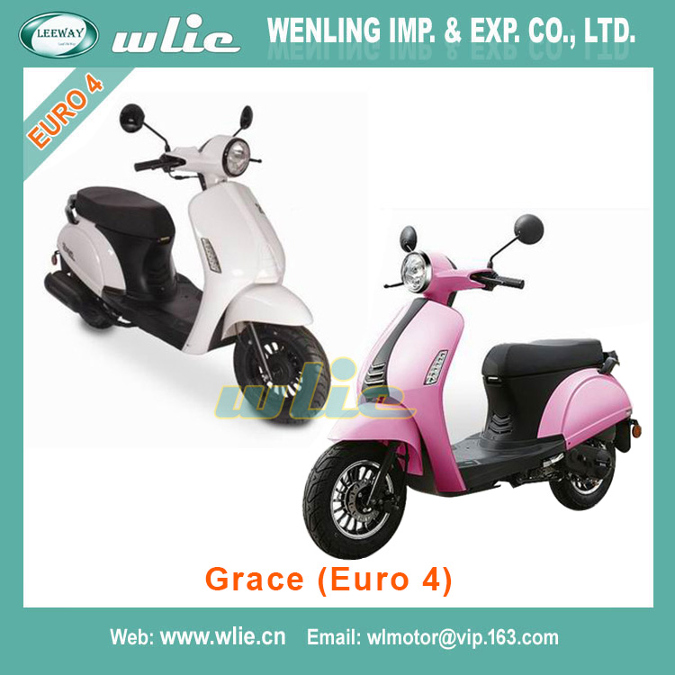 Hot best price for motor scooter 50cc racing motorbike dirt bike brand gas-scooter Classic&Grace 50(Euro-4)