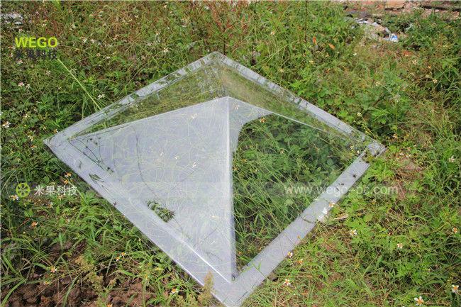 Coupole De Toit : pyramide lanterneau coupole feuille de polycarbonate toit d me dans brise soleil et t les ~ Nature-et-papiers.com Idées de Décoration