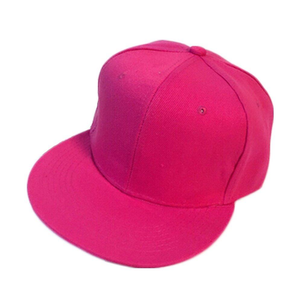 80d7c40a33f Bright Pink Baseball Caps Flexfit Hats Flat Cap Fabulous Women Fitted Caps