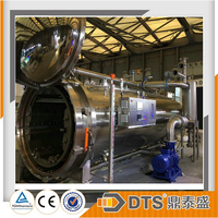 stainless steel rotary retort autoclave food processing machine for food sterilization
