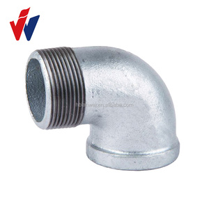 "1/2"" NPT threads malleable iron pipe fittings malleable iron bend"