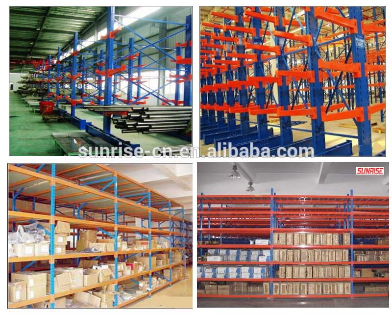 200kgs Light Duty Boltless Metal Shelf Racking Panel Long Span Storage Multi-purpose Shelf Rack